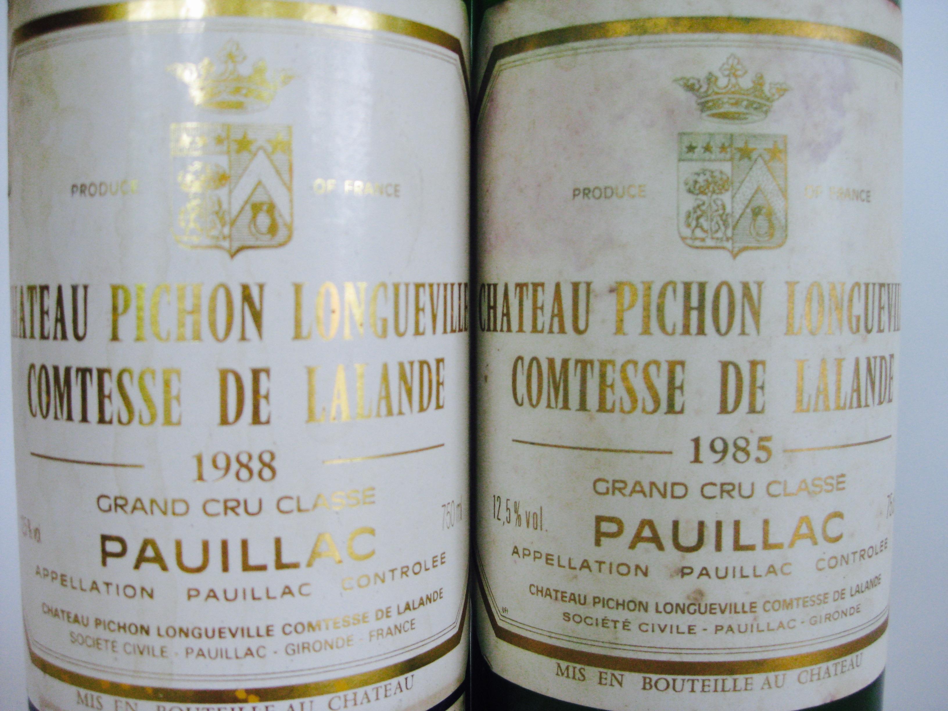 1988 & 1985 Chateau Pichon Lalande | John Mahoney Drinks Wine